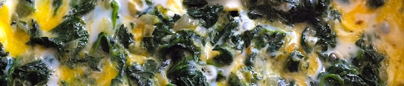 Spinach With Eggs