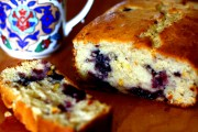 Summer Berry Yogurt Loaf Cake