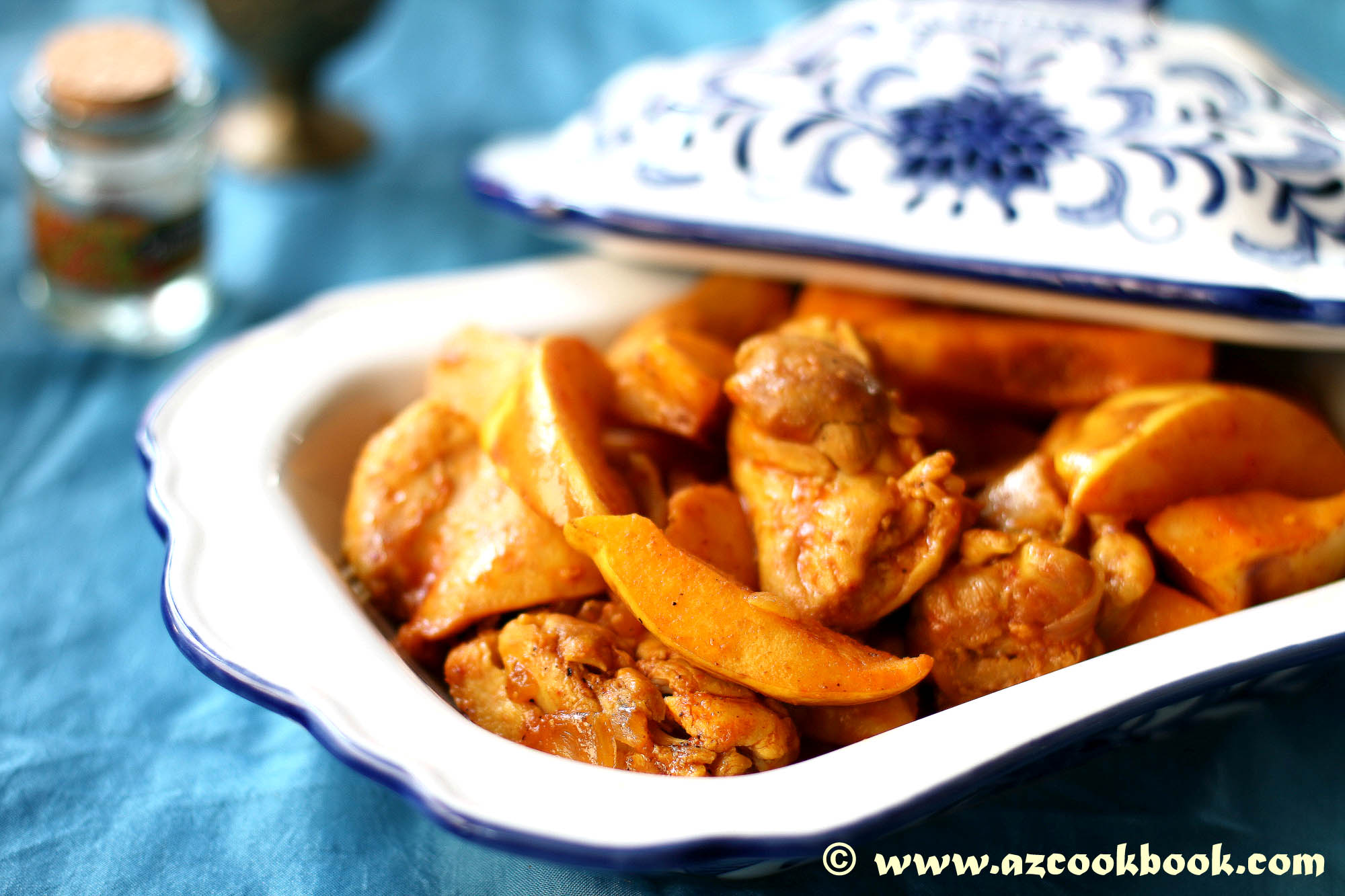 Saffron chicken with quince az cookbook my friend maryam once made this chicken stew with quince infused with saffron after having at least 3 servings yes i am a glutton of it i was ready to forumfinder Choice Image