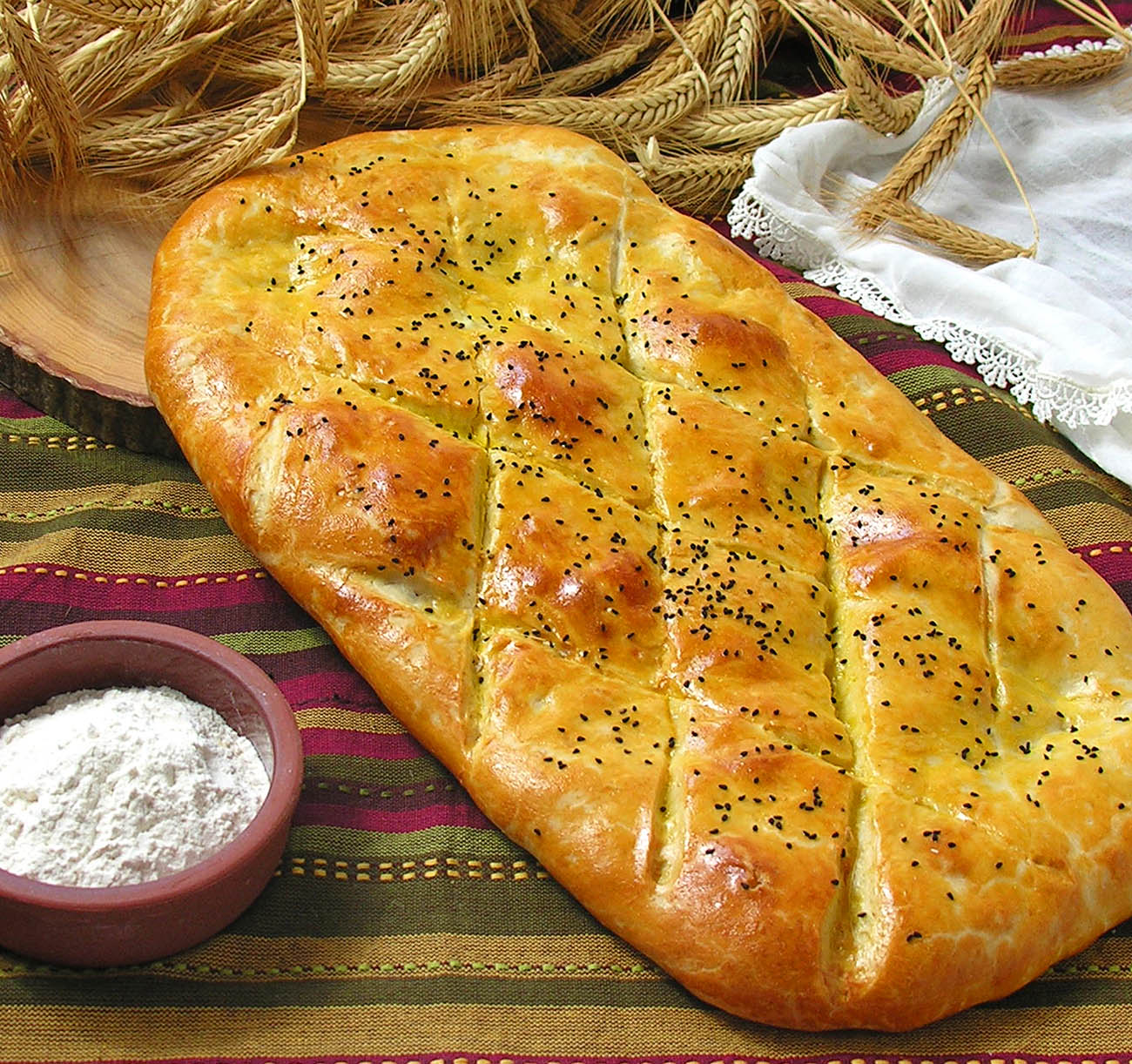 Tandir Bread of Tandoori Bread