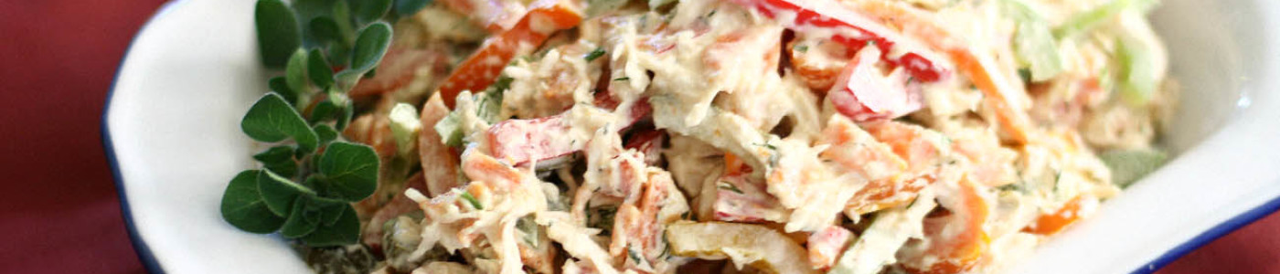 Chicken Salad with Bell Peppers