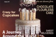 Desserts Magazine - Zebra Cake Revisited