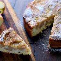 Apple Sharlotka | AZCookbook.com by Feride Buyuran