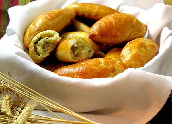 Pirojki (Piroshki) with Potato or Meat