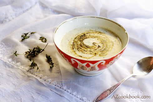 Turkish Yogurt Soup