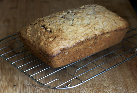 Spiced Banana-Walnut Loaf