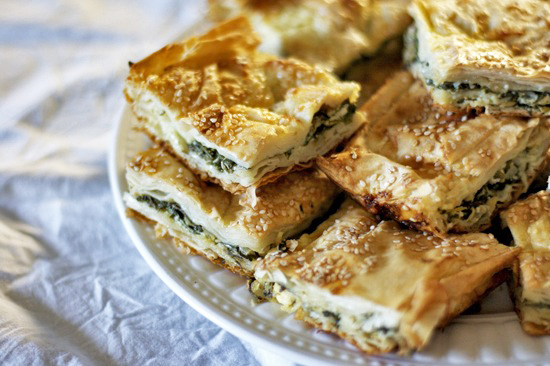 Turkish Spinach Pie (Ispanakli Borek)
