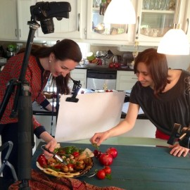 Behind the Scenes: Cookbook Cover Photo Shoot