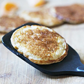 Healthy Cottage Cheese Pancakes