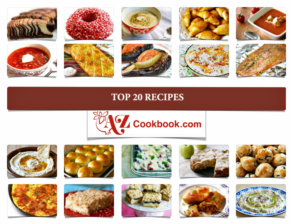 AZ Cookbook Top 20 Recipes