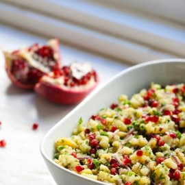 Herbed Potato and Pomegranate Salad