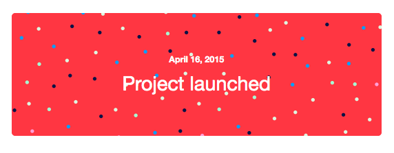 Project Launched!