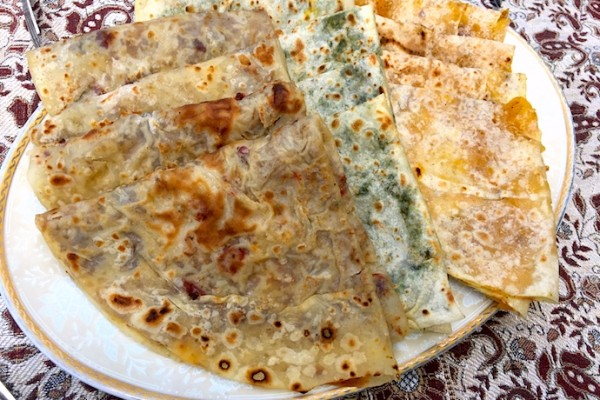 Stuffed Flatbreads - Gutab | AZ Cookbook