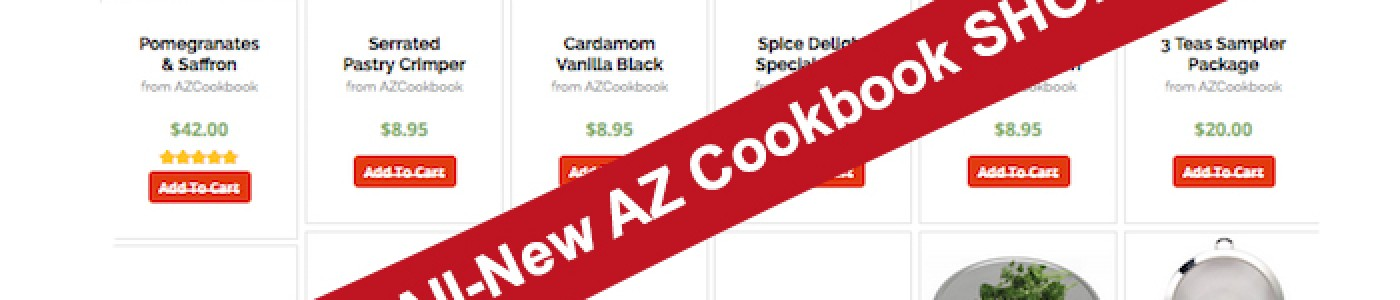 Shop AZ Cookbook and Get Your Bonus