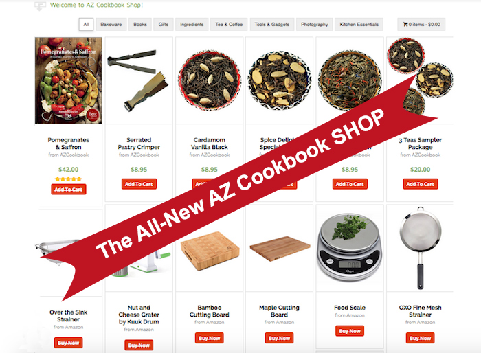Shop | AZCookbook.com