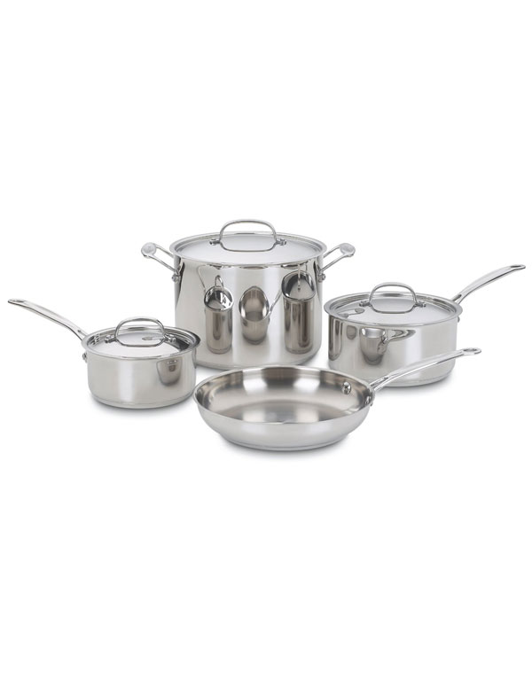 Cuisinart Stainless Cookware Set | AZ Cookbook