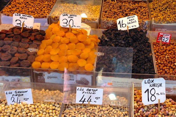 Dried Fruits and Nuts, Istanbul