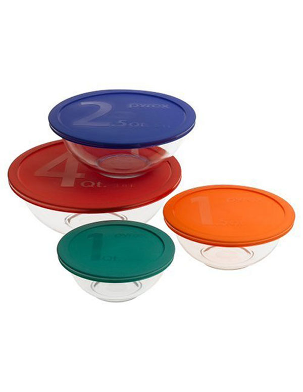 Pyrex Mixing Bowl Set | AZ Cookbook