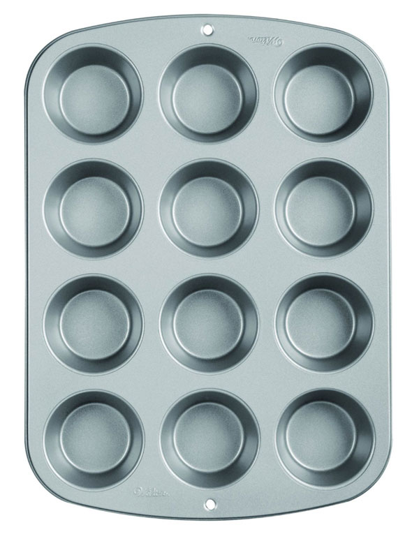 12-Cup Muffin Pan | AZ Cookbook