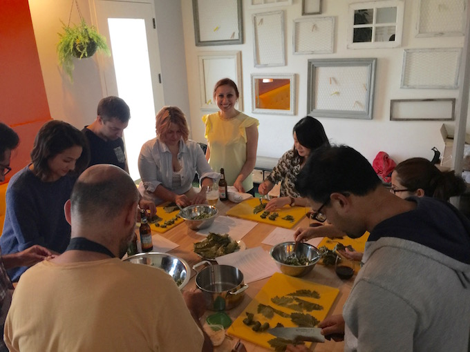 Azerbaijani Cooking Class - Making Dolma