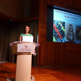 Lecture on History of Azerbaijani Food at Los Angeles Central Library