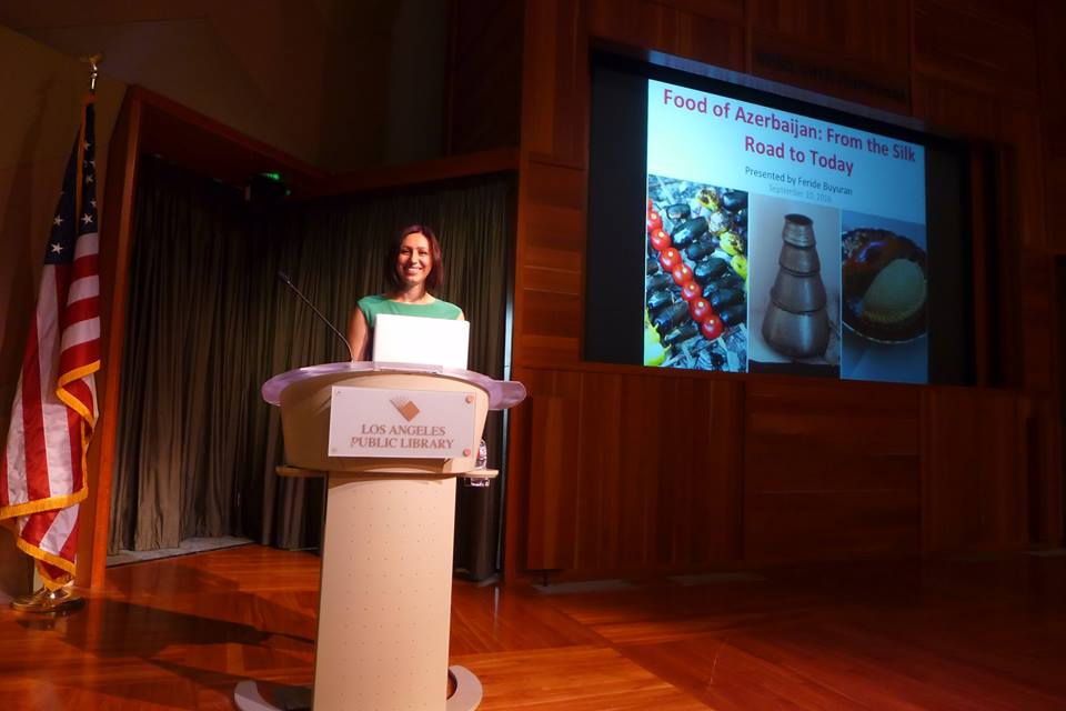 Lecture on History of Azerbaijani Food by Feride Buyuran