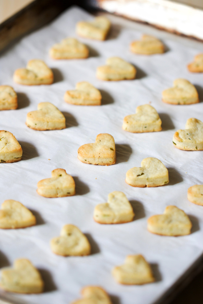 Goat Cheese and Chive Cookies | AZ Cookbook
