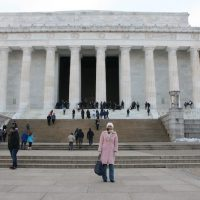 Feride Buyuran, Lincoln Memorial | AZcookbook.com