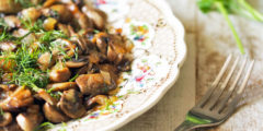 Sauteed Mushrooms and Onions | AZCookbook.com