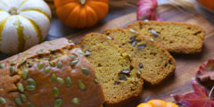Perfect Pumpkin Bread Recipe | AZCookbook.com by Feride Buyuran