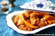 Saffron Chicken With Quince