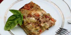 Lasagne Verdi al Forno - Daring Bakers Challenge
