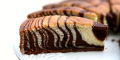 Zebra Cake   AZ Cookbook
