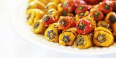 Rice Stuffed Mini Sweet Peppers