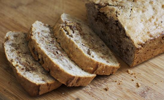 Spiced Banana-Walnut Loaf