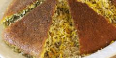 AZ Cookbook | Rice Crust for Under Rice Pilaf