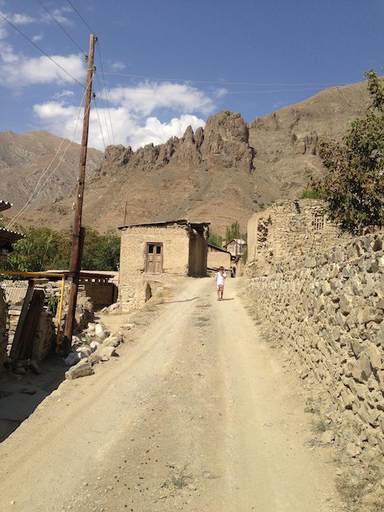 Village of Nusnus, Ordubad, Azerbaijan