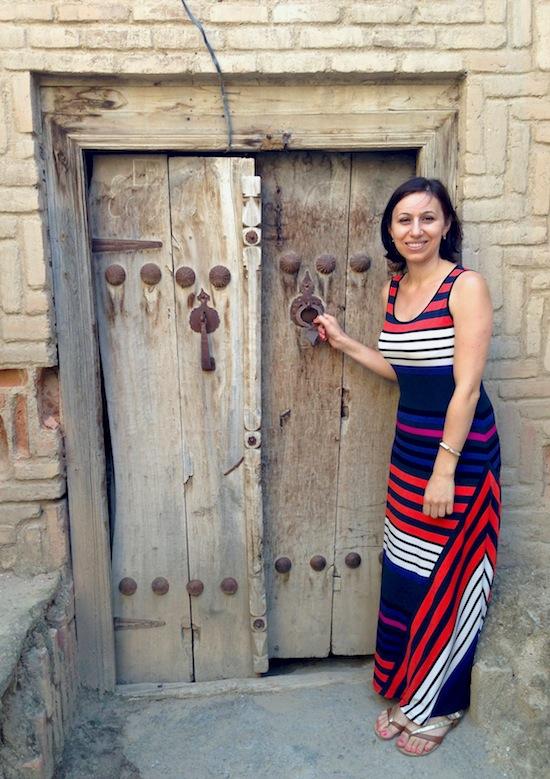 Old Door in Ordubad
