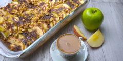 Easy Apple Coffee Cake   AZCookbook.com