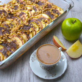 Easy Apple Coffee Cake | AZCookbook.com