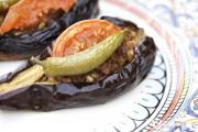 """Turkish """"Split Belly"""" Eggplant   AZ Cookbook"""