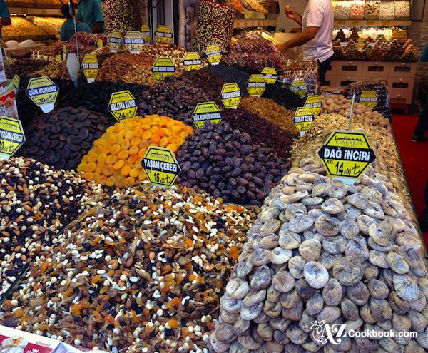 Market Scene in Istanbul