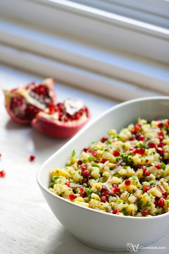 Herbed Potato and Pomegranate Salad