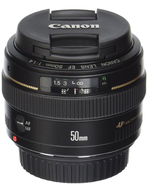 Canon EF 50mm Lens | AZ Cookbook