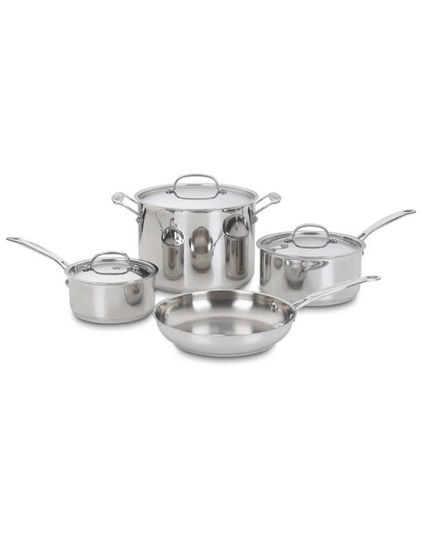 Cuisinart Stainless Cookware Set | AZ Cookbook