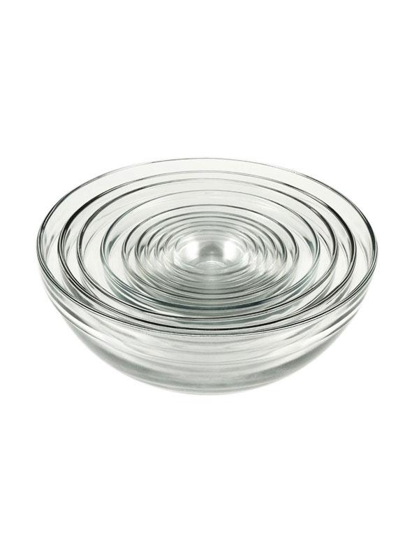 Glass Serving and Prep Bowl Set | AZ Cookbook