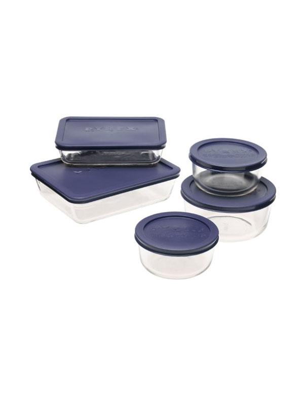 Pyrex Glass Storage Set | AZ Cookbook