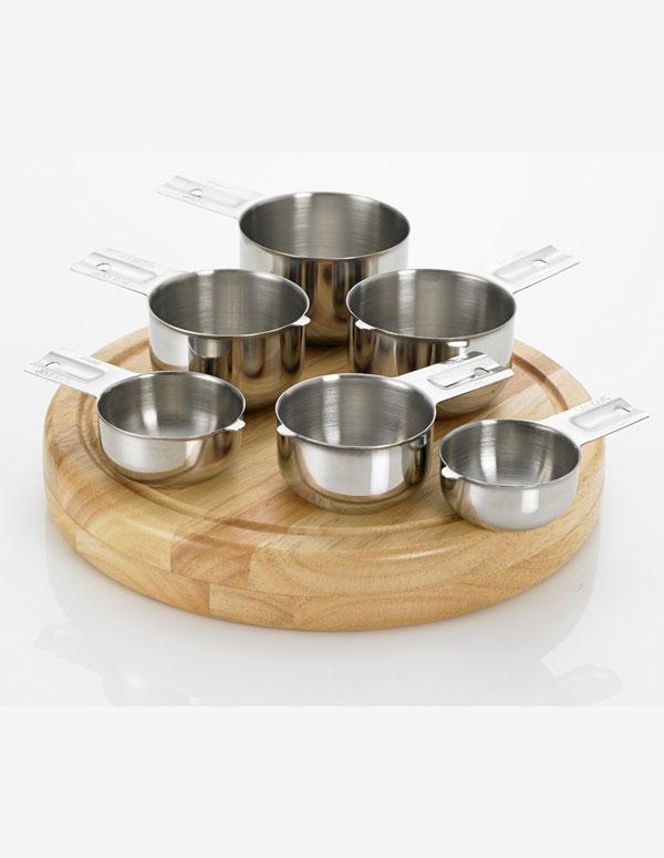 6-Piece Measuring Cups | AZ Cookbook