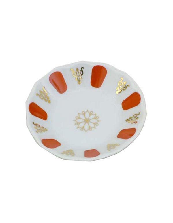 Turkish Tea Glass Saucers - Red | AZ Cookbook