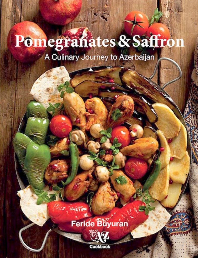 Pomegranates And Saffron Hardcover | AZ Cookbook